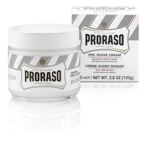 Крем До бритья PRORASO WHITE PRE-SHAVE CREAM 100 ml