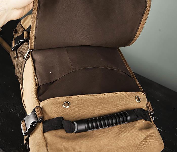 BAG365-2 Рюкзак-трансформер из плотного текстиля фото 11