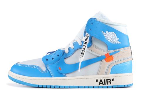 Off-White x Air Jordan 1 'Powder Blue'