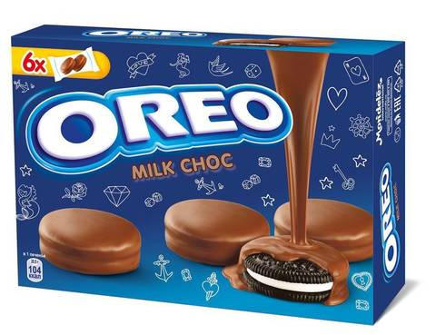 "Печенье ""Oreo"" покрытое глазурью с какао 246г"