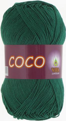 Пряжа Vita Coco 4327 зеленый
