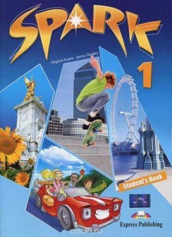 Spark 1 (Monstertrackers).Student's Book. Учебник