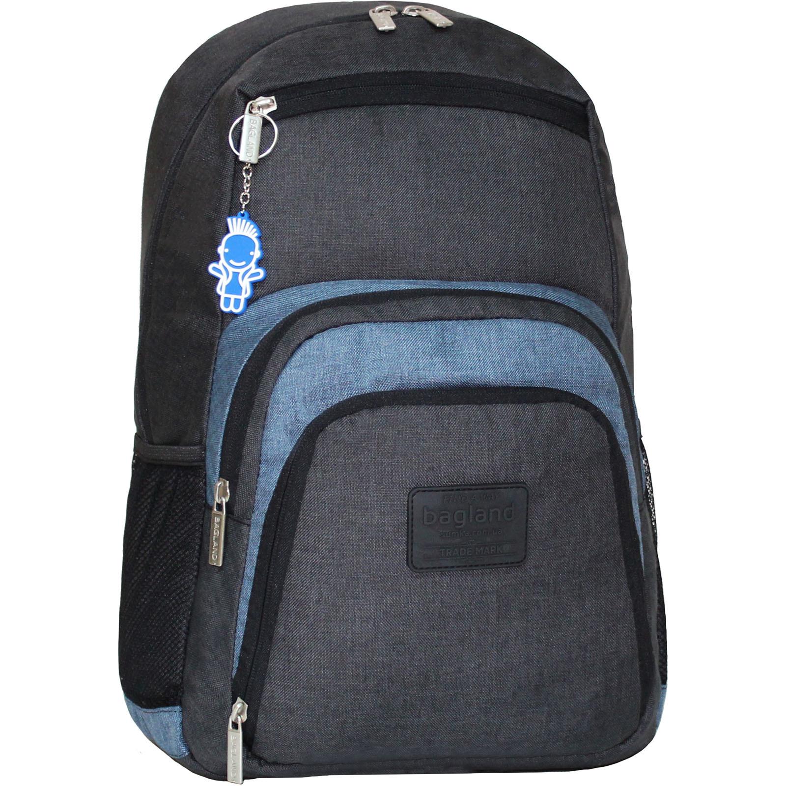 Рюкзаки для ноутбука Рюкзак для ноутбука Bagland Freestyle 21 л. черный/серый (0011969) IMG_2105.JPG