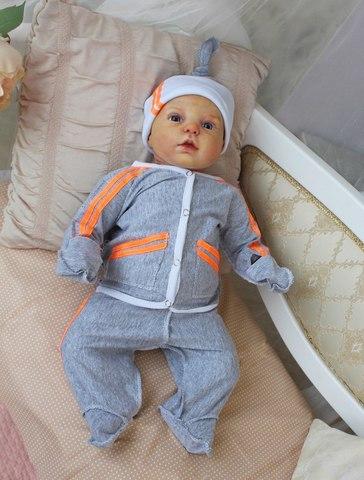 Комплект на выписку новорожденных Спорт