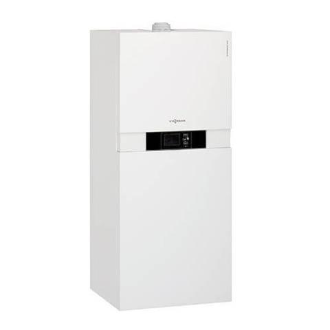 Котел газовый конденсационный Viessmann Vitodens 222-F B2SB - 19 кВт (двухконтурный)
