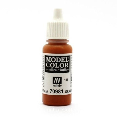 Model Color Orange Brown 17 ml.
