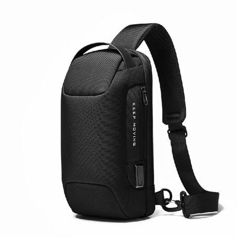 Рюкзак однолямочный Bange BG22085 чёрный