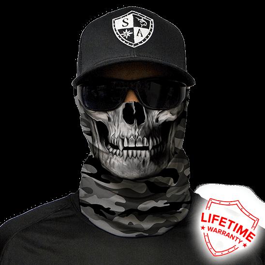 SA Company Бандана-труба с черепом SA Grey Military Skull Grey_Military_Skull.png