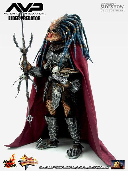 Alien vs. Predator: Elder Predator Movie Masterpiece Figure