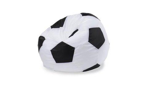 Кресло-мешок «Мяч» Бело-черный