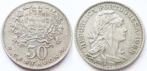 Португалия 50 сентаво