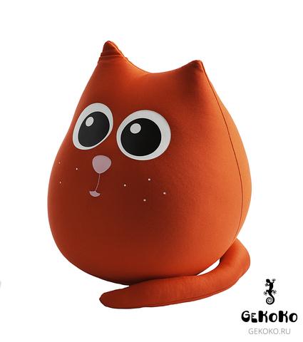 Подушка-игрушка антистресс «Кот Искра» 3