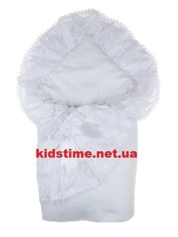 Конверт-одеяло Красотка белый