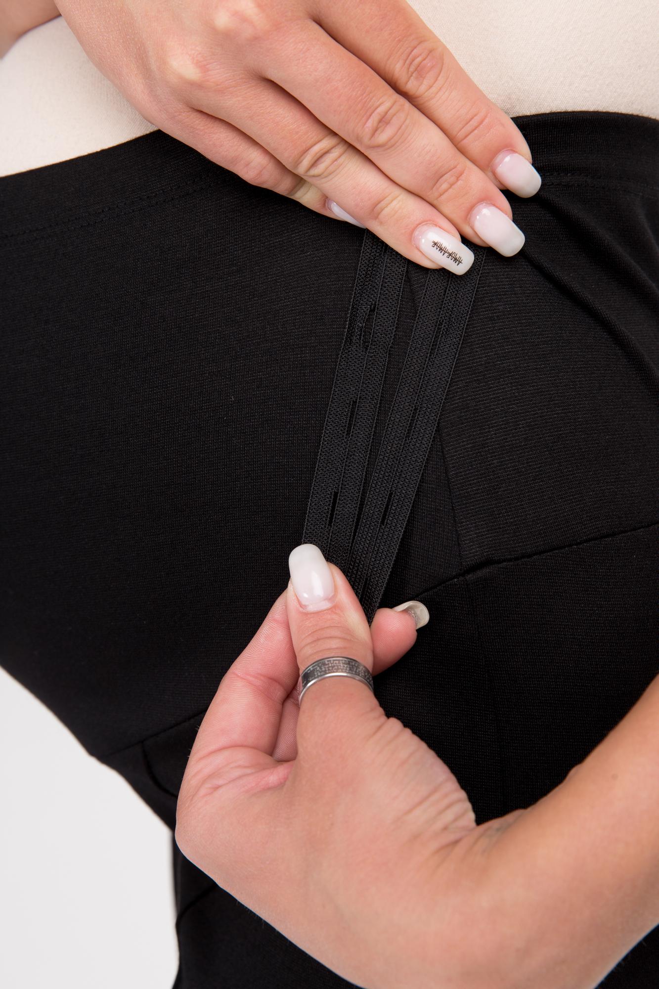 Брюки для беременных 09848 черный