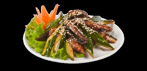 Унаги салат