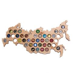 Карта для пивных крышек