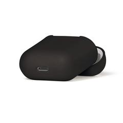 Чехол на AirPods (черный) силиконовый