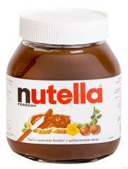 Шоколадная паста Nutella с лесными орехами 630г
