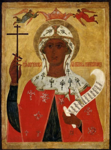 Икона святая Параскева Пятница на дереве на левкасе  мастерская Иконный Дом