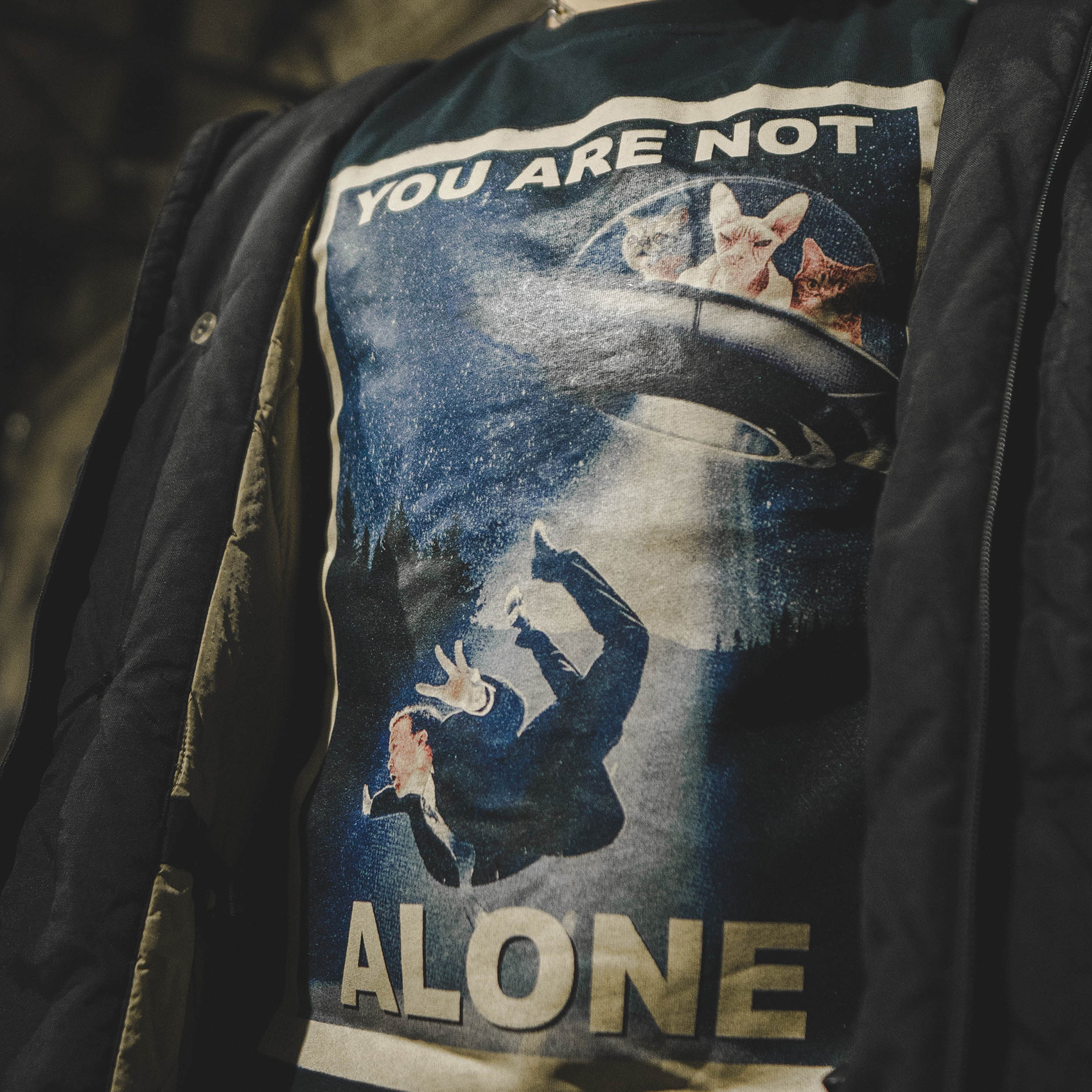 You are not alone / футболка