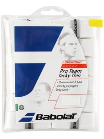 Намотки Babolat Pro Team Tacky Thin 12 штук