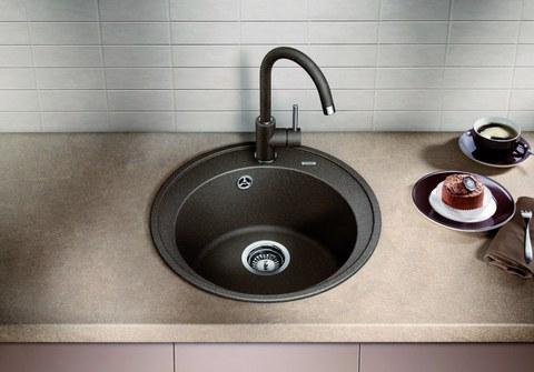 Мойка кухонная Blanco Riona Антрацит