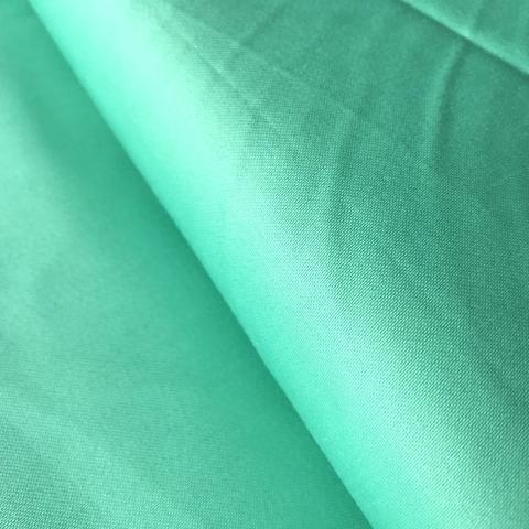 Ткань хлопок сатин с эластаном мятный 2099