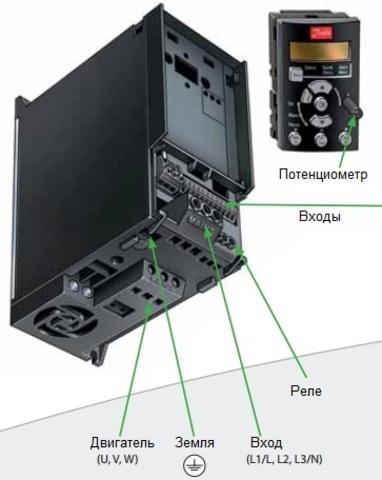 Частотный преобразователь Danfoss VLT Micro Drive FC 51 (3 кВт, 380В, 3 ф) 132F0024
