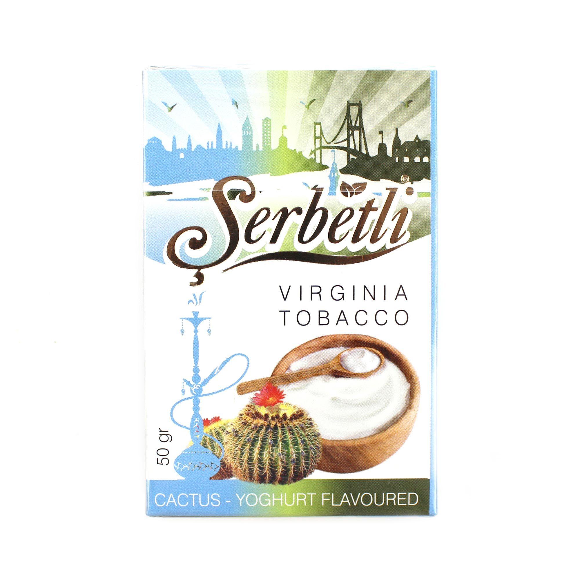 Табак для кальяна Serbetli Cactus Yougurt 50 гр.