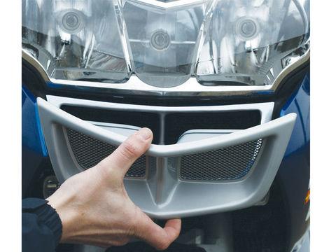 Защита масляного радиатора (решетка) BMW R1200RT(-09) серебро