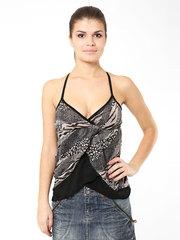 31061 блузка коричневая
