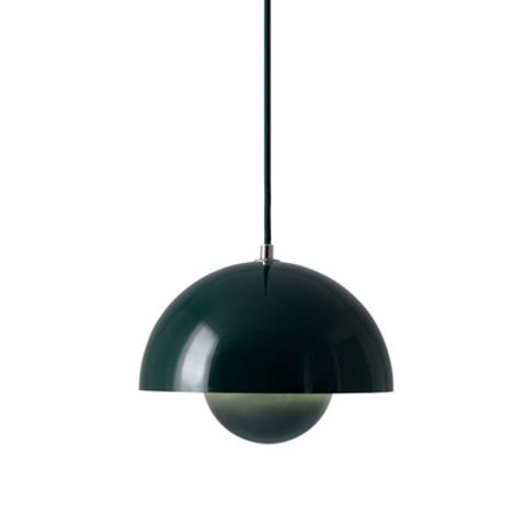 Подвесной светильник копия Flowerpot by Verpan Panton (зеленый)