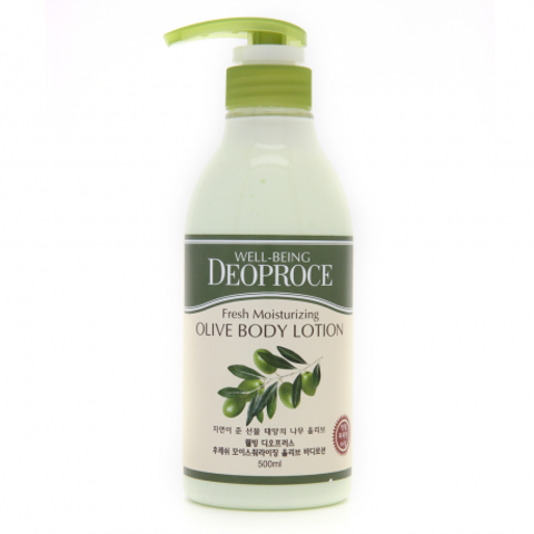 WELL-BEING FRESH MOISTURIZING OLIVE BODY LOTION