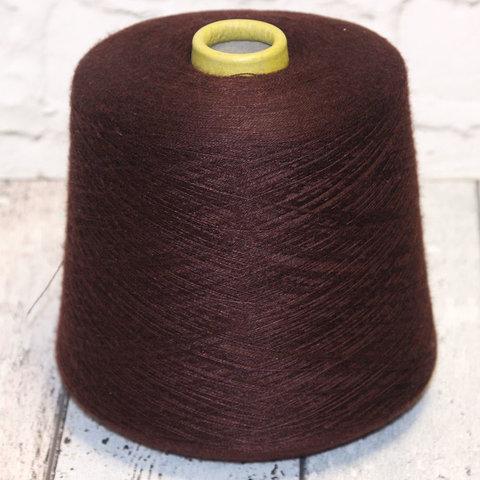 Кашемир с шелком 2/48 ZEGNA BARUFFA / GOLD бордово-коричневый