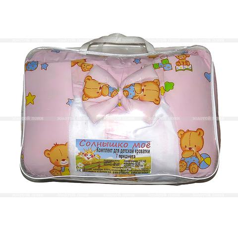 Комплект для детской кроватки 7 предметов ZP-10OKT-LD25