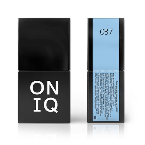 Гель-лак ONIQ - 037 Corydalis Blue, 10 мл