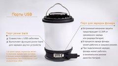 Кемпинговый фонарь Fenix CL30R (Оливковый, Черный)