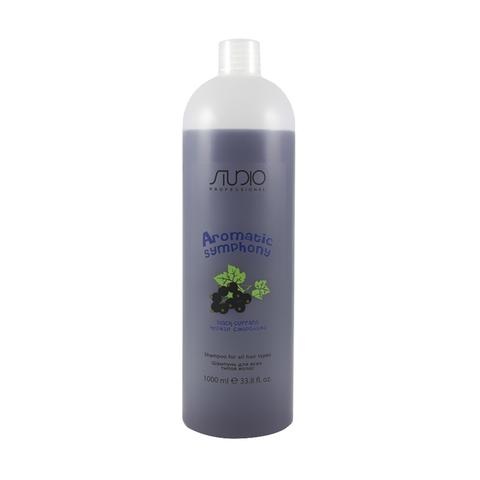 Шампунь для всех типов волос Черная смородина 1000 мл. Kapous Studio