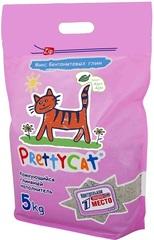 """Наполнитель комкующийся для кошачьих туалетов 5 кг с ароматом алоэ, PrettyCat """"Euro Mix"""""""