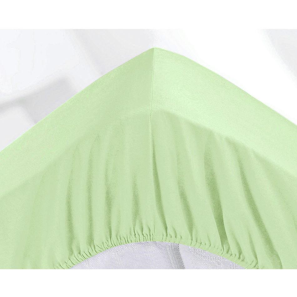 МИКРОФИБРА - Двуспальная простыня на резинке 180х200
