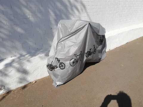 Уличный непромокаемый чехол для велосипеда