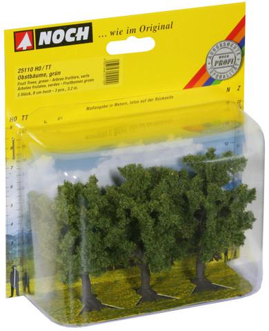 Фруктовые деревья - 3шт, (8 см)