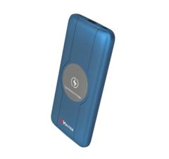 Портативное зарядное устройство ReVolter 10000Qi Power Bank Синий