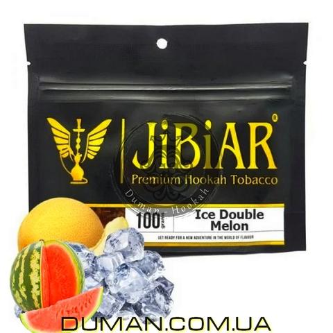 Табак JiBiAR Ice Double Melon (Джибиар Лед Арбуз Дыня)