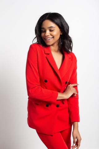 красный пиджак женский nadya