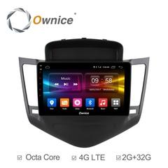 Штатная магнитола на Android 6.0 для Chevrolet Cruze 09+ Ownice C500+ S9222P
