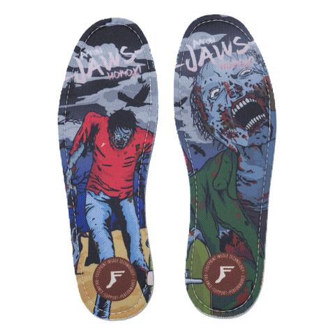 Стельки FOOTPRINT Kingfoam Flat (Jaws Zombie)
