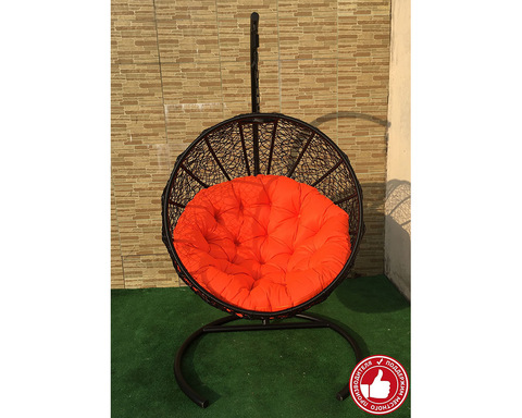 Подвесное кресло Ола черное