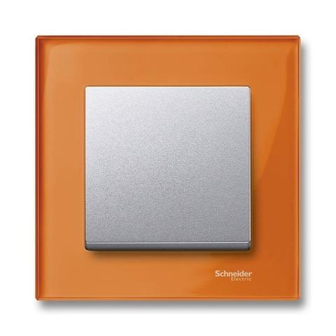 Рамка на 1 пост. Цвет Оранжевый кальцит. Merten. M-Elegance System M. MTN404102