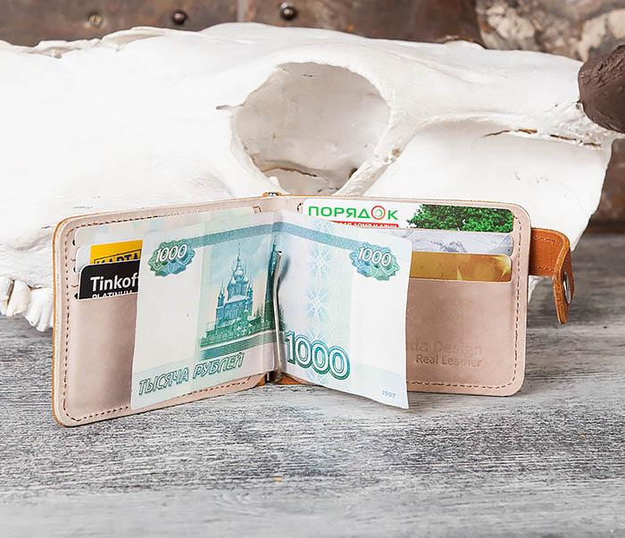 WB164-2 Мужской зажим для купюр с фирменным логотипом Бороды фото 08
